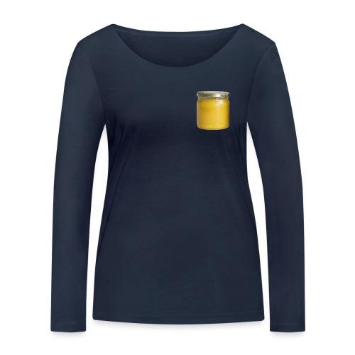 Honungsburk med Maskroshonung - Ekologisk långärmad T-shirt dam från Stanley & Stella