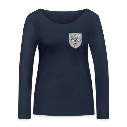 Zermatt Schweiz Wappen - Women's Organic Longsleeve Shirt by Stanley & Stella
