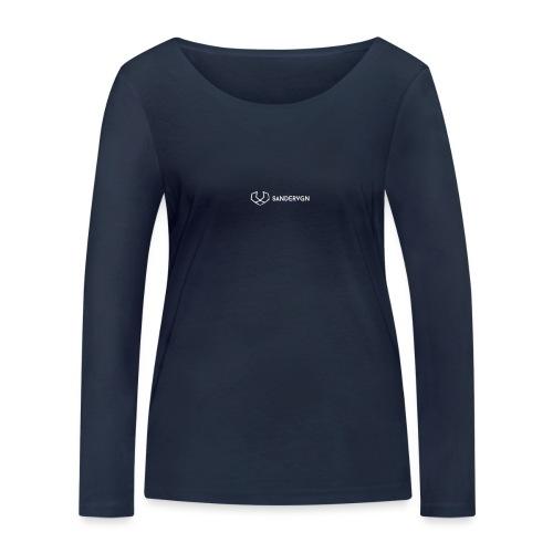 logo sandervgn - Vrouwen bio shirt met lange mouwen van Stanley & Stella