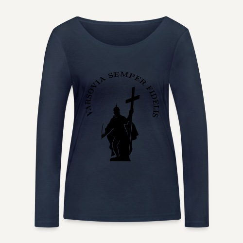varsoviasf - Ekologiczna koszulka damska z długim rękawem Stanley & Stella