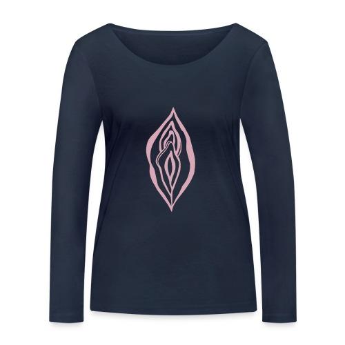 Wild Yoni Sacred Goddess Magic Girl Power Feminist - Women's Organic Longsleeve Shirt by Stanley & Stella