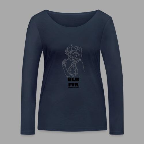 BLK FTR N°6 - Maglietta a manica lunga ecologica da donna di Stanley & Stella