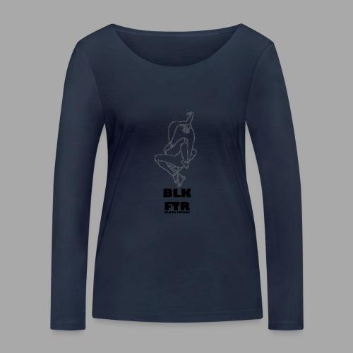 BLK FTR N°7 - Maglietta a manica lunga ecologica da donna di Stanley & Stella