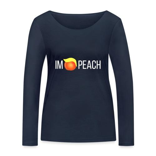 IMPEACH / Light Unisex Hoodie Sweat - Women's Organic Longsleeve Shirt by Stanley & Stella