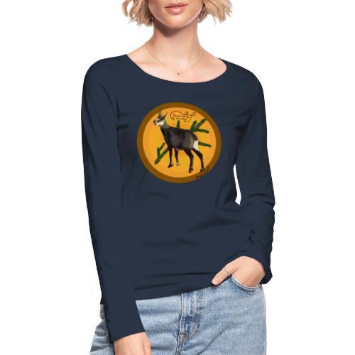 Die Gemse - Frauen Bio-Langarmshirt von Stanley & Stella