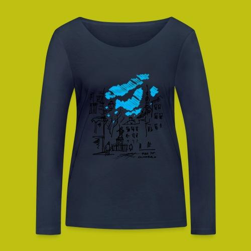 Plaza de Cascorro - Camiseta de manga larga ecológica mujer de Stanley & Stella