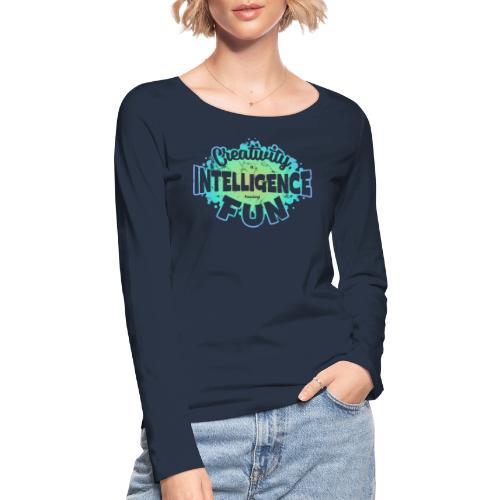 Createlligence - Ekologisk långärmad T-shirt dam från Stanley & Stella