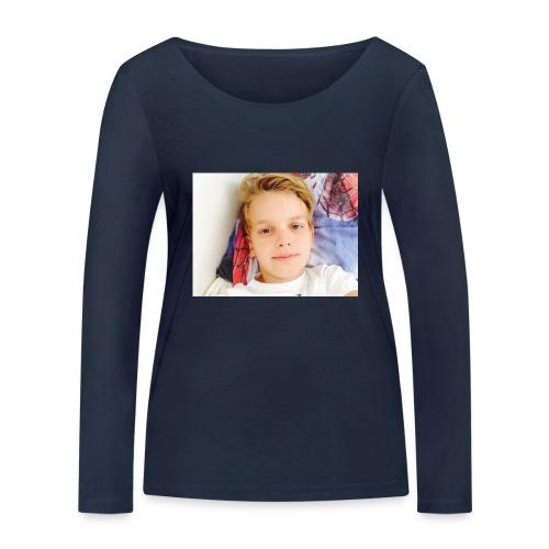 first design - Økologisk Stanley & Stella langærmet T-shirt til damer
