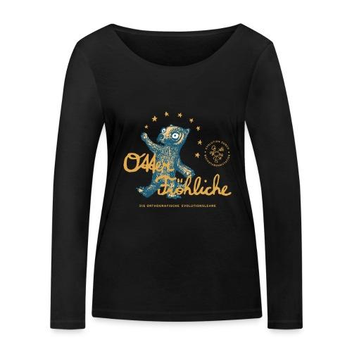 Otter Fröhliche - Frauen Bio-Langarmshirt von Stanley & Stella
