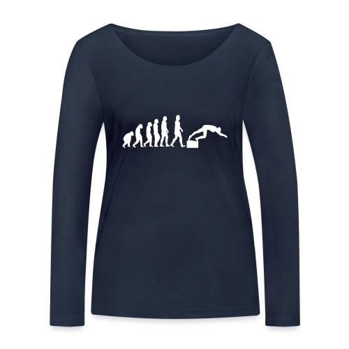 SWIMMER'S EVOLUTION - Maglietta a manica lunga ecologica da donna di Stanley & Stella