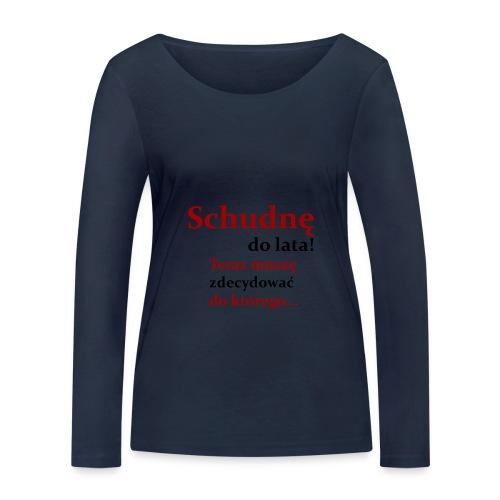 Fit - Ekologiczna koszulka damska z długim rękawem Stanley & Stella
