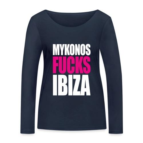 MYKONOS VS IBIZA - T-shirt manches longues bio Stanley & Stella Femme