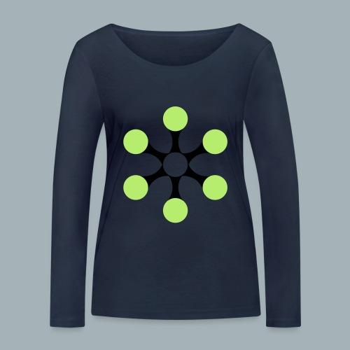 Star Bio T-shirt - Vrouwen bio shirt met lange mouwen van Stanley & Stella