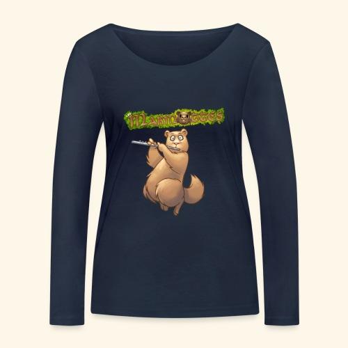 Tshirt Flute devant 2 - T-shirt manches longues bio Stanley & Stella Femme