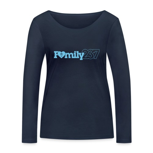 Family237 Blue - Women's Organic Longsleeve Shirt by Stanley & Stella