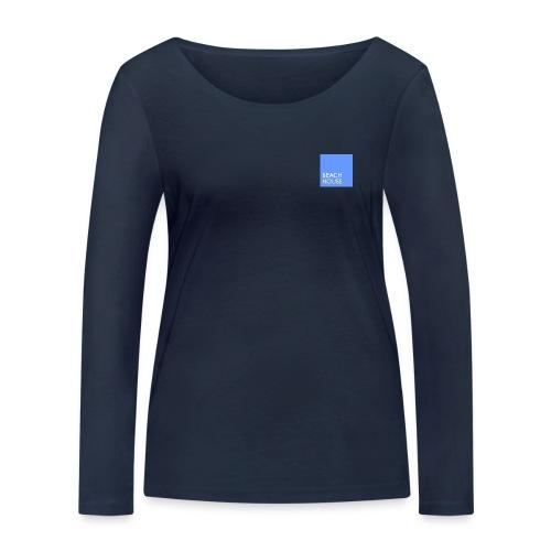 Blue Summer Logo - Women's Organic Longsleeve Shirt by Stanley & Stella