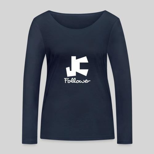 JC Follower - Nachfolger Jesu Christi - Frauen Bio-Langarmshirt von Stanley & Stella