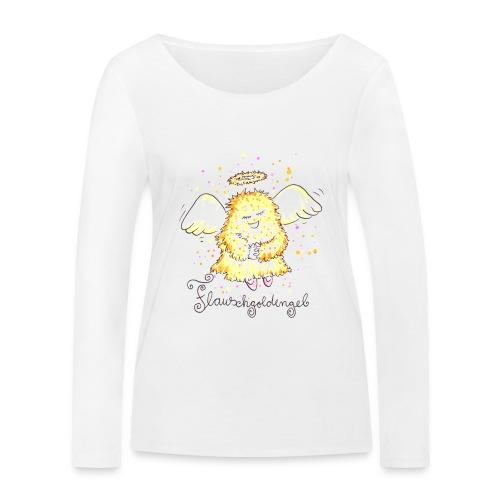 Flauschgoldengel - Frauen Bio-Langarmshirt von Stanley & Stella