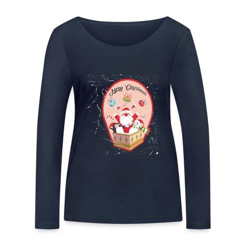 Merry Chrismas1 - T-shirt manches longues bio Stanley & Stella Femme