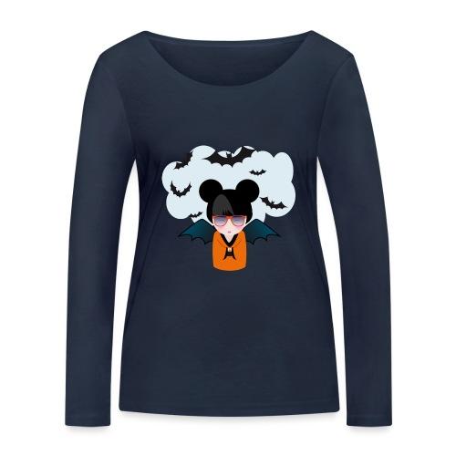 halloween kokeshi - T-shirt manches longues bio Stanley & Stella Femme