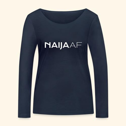 naija-af - Women's Organic Longsleeve Shirt by Stanley & Stella