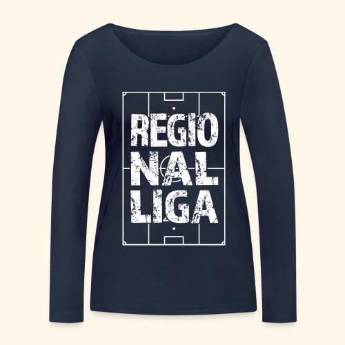 REGIONALLIGA im Fußballfeld - Frauen Bio-Langarmshirt von Stanley & Stella