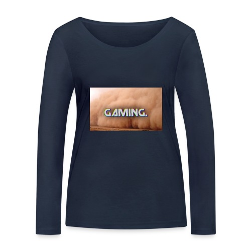 GamingDust LOGO - Women's Organic Longsleeve Shirt by Stanley & Stella
