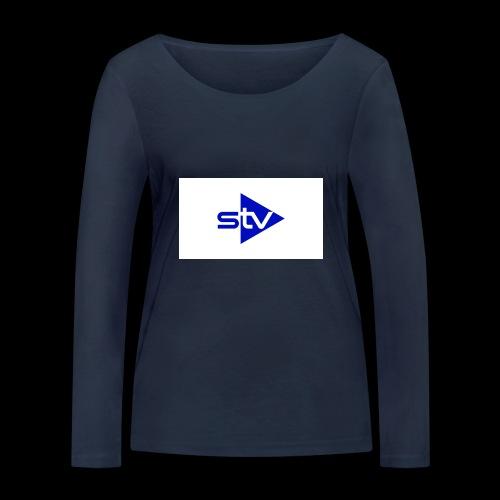 Skirä television - Ekologisk långärmad T-shirt dam från Stanley & Stella
