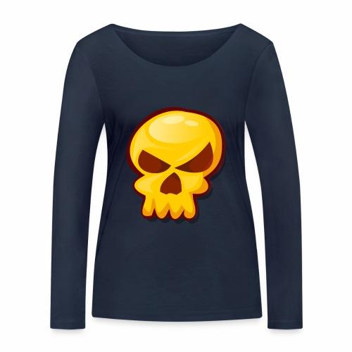 Golden Skull - Camiseta de manga larga ecológica mujer de Stanley & Stella