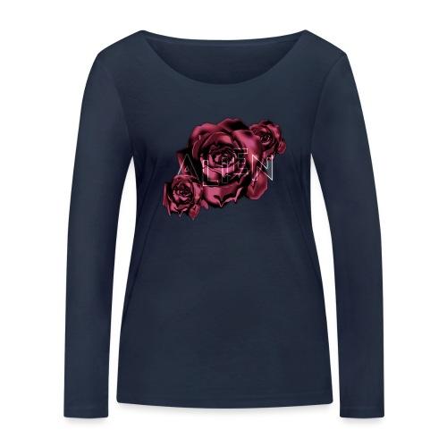 Rose Guardian Small - Økologisk langermet T-skjorte for kvinner fra Stanley & Stella