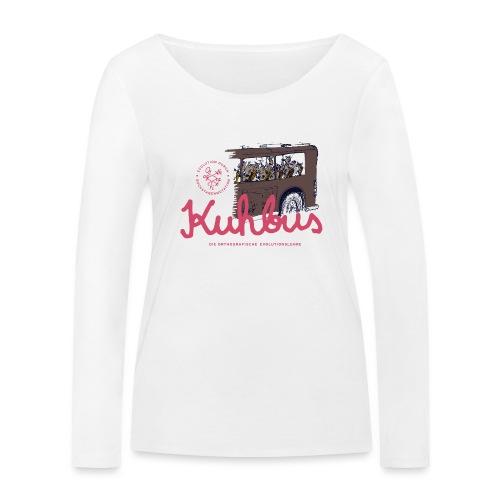 Der Kuhbus - Frauen Bio-Langarmshirt von Stanley & Stella