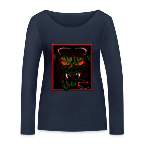 monster - Women's Organic Longsleeve Shirt by Stanley & Stella