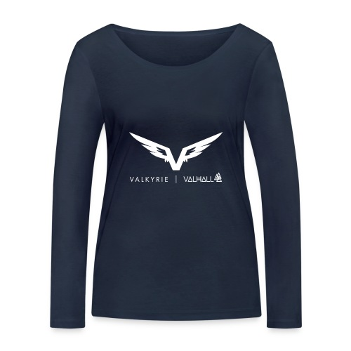 valkyriewhite - Women's Organic Longsleeve Shirt by Stanley & Stella