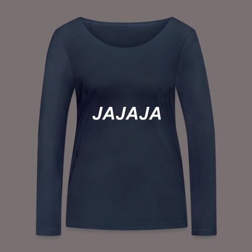 Ja - Frauen Bio-Langarmshirt von Stanley & Stella