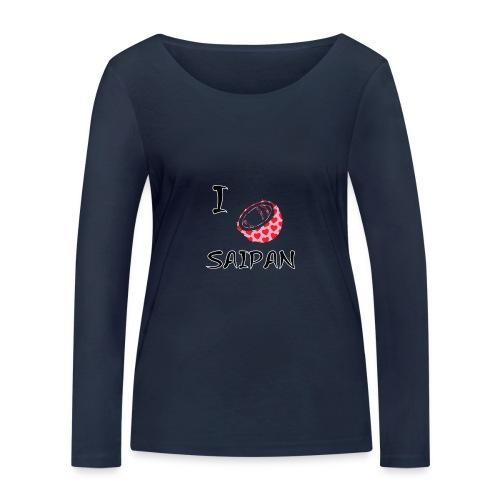 I Love Saipan - Women's Organic Longsleeve Shirt by Stanley & Stella