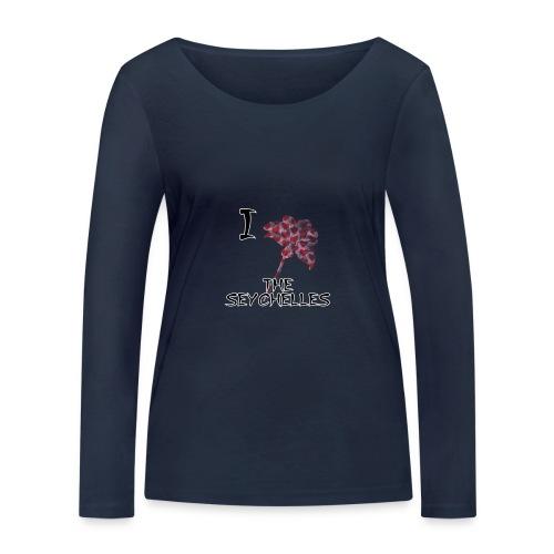 I Love The Seychelles - Women's Organic Longsleeve Shirt by Stanley & Stella