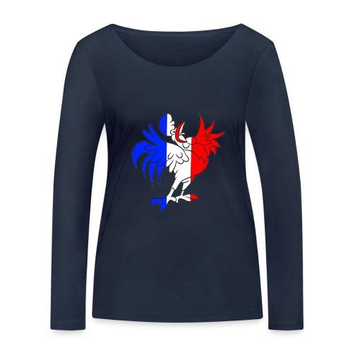 Coq France - T-shirt manches longues bio Stanley & Stella Femme
