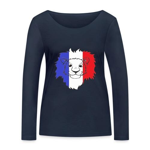 Lion France - T-shirt manches longues bio Stanley & Stella Femme