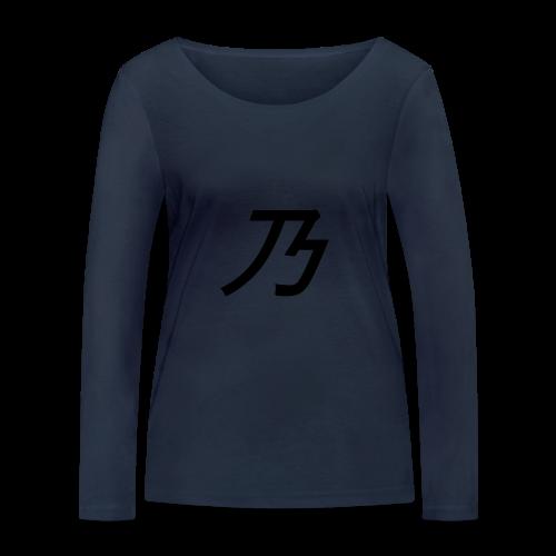 B Logo - Økologisk Stanley & Stella langærmet T-shirt til damer