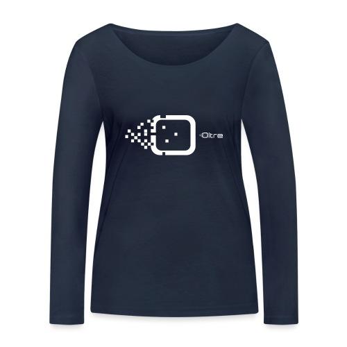 Logo Associazione Oltre - Maglietta a manica lunga ecologica da donna di Stanley & Stella