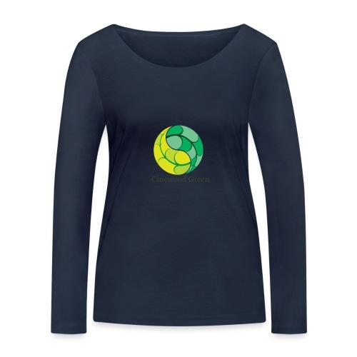 Cinewood Green - Women's Organic Longsleeve Shirt by Stanley & Stella