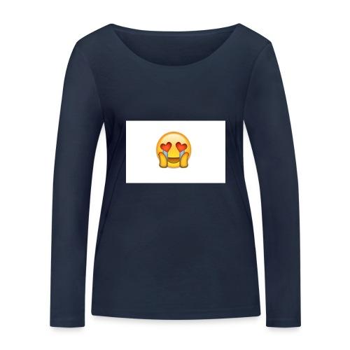 Emoij Hoesje - Vrouwen bio shirt met lange mouwen van Stanley & Stella