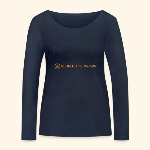 Rudelhilfe Logo - Frauen Bio-Langarmshirt von Stanley & Stella