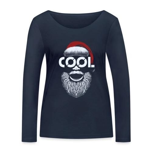 Christmas is cool - Frauen Bio-Langarmshirt von Stanley & Stella