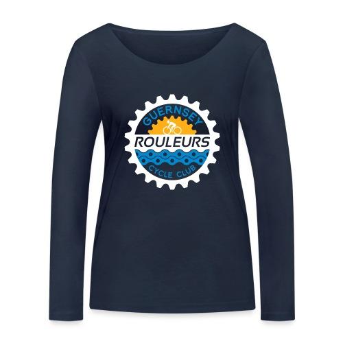 Guernsey Rouleurs Logo Reversed - Women's Organic Longsleeve Shirt by Stanley & Stella