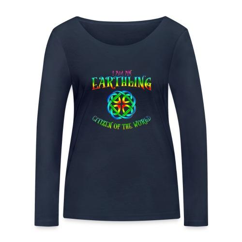 EARTHLING T-shirt - Ekologisk långärmad T-shirt dam från Stanley & Stella
