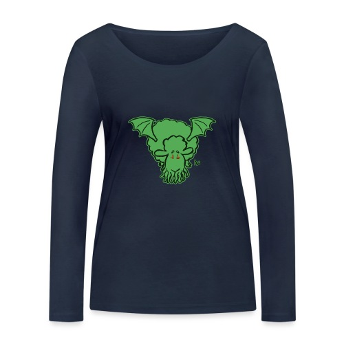 Cthulhu får - Økologisk Stanley & Stella langærmet T-shirt til damer