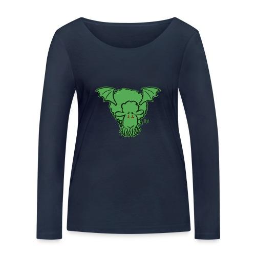 Cthulhu Sheep - Økologisk langermet T-skjorte for kvinner fra Stanley & Stella