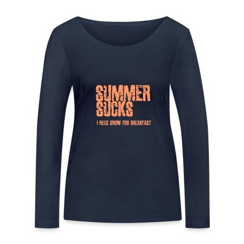 SUMMER SUCKS - Vrouwen bio shirt met lange mouwen van Stanley & Stella