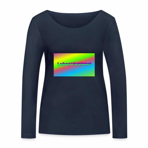 LukasVSMikkel Logo - Økologisk Stanley & Stella langærmet T-shirt til damer